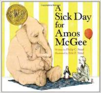 A Sick Day for Amos McGee Written by Phillip Stead
